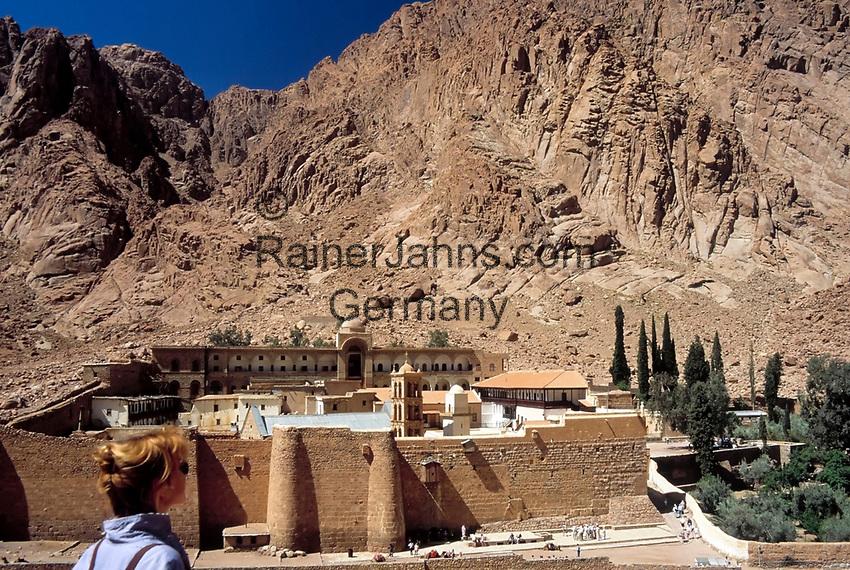 EGY, Aegypten, Sinai: St. Katharinen-Kloster   EGY, Egypt, Sinai: Saint Catherine's Monastery