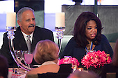 Oprah Winfrey and Stedman Graham attend a dinner in honor of the Medal of Freedom awardees at the Smithsonian National Museum of American History on November 20, 2013 in Washington, D.C.<br /> Credit: Kevin Dietsch / Pool via CNP