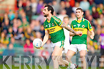 Paul Galvin releases the ball in the Muster Senior Semi final held in The Gaelic Grounds last Saturday evening.