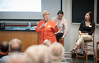 Elizabeth Kennedy speaks.<br />