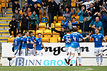 St Johnstone v Aberdeen&hellip;15.09.18&hellip;   McDiarmid Park     SPFL<br />David McMillan celebrates his goal<br />Picture by Graeme Hart. <br />Copyright Perthshire Picture Agency<br />Tel: 01738 623350  Mobile: 07990 594431