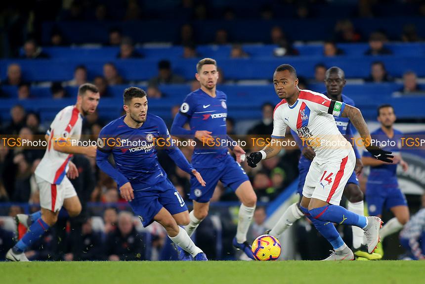 Jordan Ayew of Crystal Palace in action during Chelsea vs Crystal Palace, Premier League Football at Stamford Bridge on 4th November 2018
