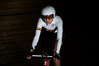 Erin Gray of Waikato BOP competes in theMasters Women 3 2000m IP final at the Age Group Track National Championships, Avantidrome, Home of Cycling, Cambridge, New Zealand, Thurssday, March 16, 2017. Mandatory Credit: © Dianne Manson/CyclingNZ  **NO ARCHIVING**