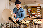 Master Craftsman Paul Evans in his workshop where he produces top quality instruments which are in demand worldwide.
