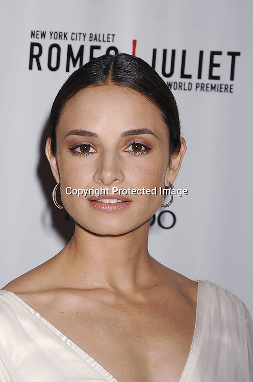 Mia Maestro..arriving at The New York City Ballet Annual Spring Gala ..on May 1, 2007 at The New York State Theatre. The World Premiere of Romeo and Juliet was danced. ..Robin Platzer, Twin Images......212-935-0770..