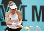 Laura Siegemun, Germany, during Madrid Open Tennis 2016 match.May, 3, 2016.(ALTERPHOTOS/Acero)