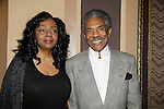 Felicia Williams and Andre de Shields - Another World attends opening night Phantom of the Opera on May 12 on Broadway at the Majestic Theatre, New York City, New York  (Photo by Sue Coflin/Max Photos)