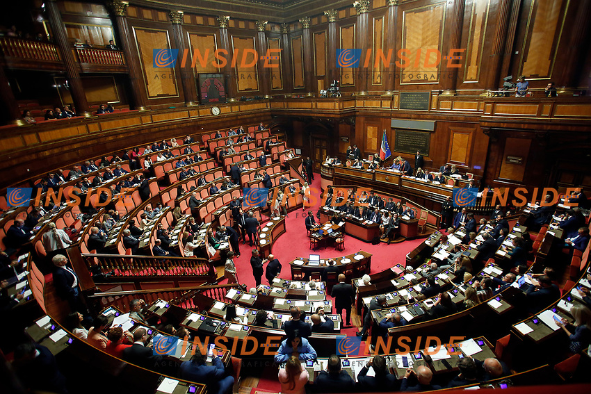 General view<br /> Rome September 10th 2019. Senate. Discussion and Trust vote at the new Government. <br /> Foto  Samantha Zucchi Insidefoto