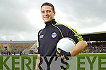 Adrian O'Connell at the Kerry Senior Football Team Media day at Fitzgerald Stadium on Saturday.