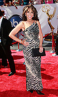 US actress Kate Linder arrives at the 35th Annual Daytime Emmy Awards held at the Kodak Theatre in Los Angeles on June 20, 2008.