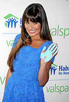 Lea Michele at the Valspar Hands - New York