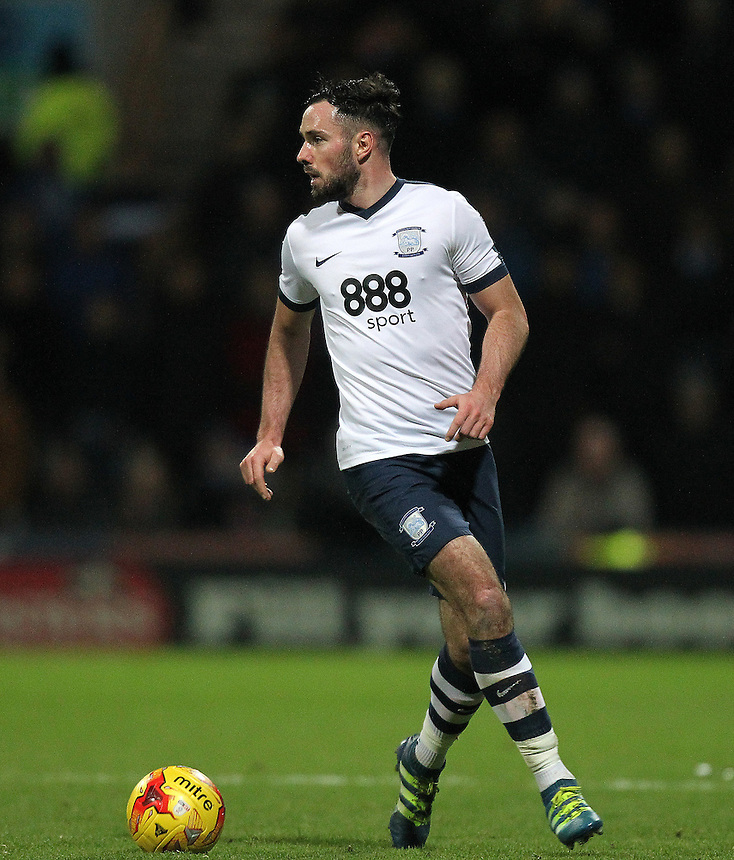 Preston North End's Greg Cunningham<br /> <br /> Photographer Mick Walker/CameraSport<br /> <br /> The EFL Sky Bet Championship - Preston North End v Sheffield Wednesday - Saturday 31st December 2016 - Deepdale - Preston<br /> <br /> World Copyright &copy; 2016 CameraSport. All rights reserved. 43 Linden Ave. Countesthorpe. Leicester. England. LE8 5PG - Tel: +44 (0) 116 277 4147 - admin@camerasport.com - www.camerasport.com