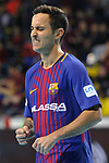 League LNFS 2017/2018 - Game 10.<br /> FC Barcelona Lassa vs CA Osasuna Magna: 3-3.<br /> Joao Batista.