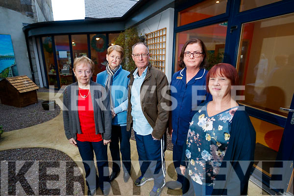 Local campaigners/stroke survivors at Baile Mhuire Day Centre welcome news of new stroke unit for UHK which opens in January, from left: Pauline Cronin, Kay O'Donnell, Brian Carmody Rose Daly and Mary Carmody.