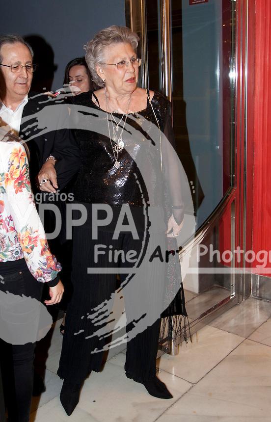 03/06/2013 Madrid, Spain Photocall 22 edición de los premios de la Union de Actores en la foto Pilar Bardem,  la entrega de premios se ha realizado en el Teatro Arteria Coliseum (C) Nacho Lopez/ DyD Fotografos