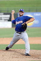Trevor Hurley - Texas Rangers - 2010 Instructional League.Photo by:  Bill Mitchell/Four Seam Images..