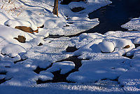 Snow and ice at Inverness Falls<br />