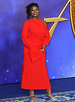Clara Amfo attends live-action remake of the hit Disney animated film Aladdin on 9th May 2019 in London, England, UK.<br /> <br /> <br /> CAP/JOR<br /> &copy;JOR/Capital Pictures