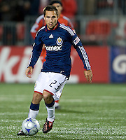 22 April 2009: Chivas USA midfielder Bojan Stepanovic #23 in action at BMO Field in a MLS game between Chivas USA and Toronto FC.Toronto FC won 1-0. .