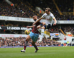 Tottenham's Harry Kane sees his shot hit the post<br /> <br /> Barclays Premier League - Tottenham Hotspur  vs West Ham  - White Hart Lane - England - 22nd February 2015 - Picture David Klein/Sportimage