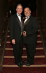 Thomas Bodkin and Bruce Arakelian attend the Broadway Opening Night of Sunset Boulevard' at the Palace Theatre Theatre on February 9, 2017 in New York City.
