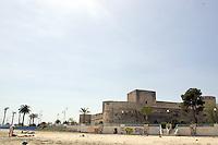 Veduta del Castello di Manfredonia dalla spiaggia.<br /> View of the Castle of Manfredonia from the beach.<br /> UPDATE IMAGES PRESS/Riccardo De Luca