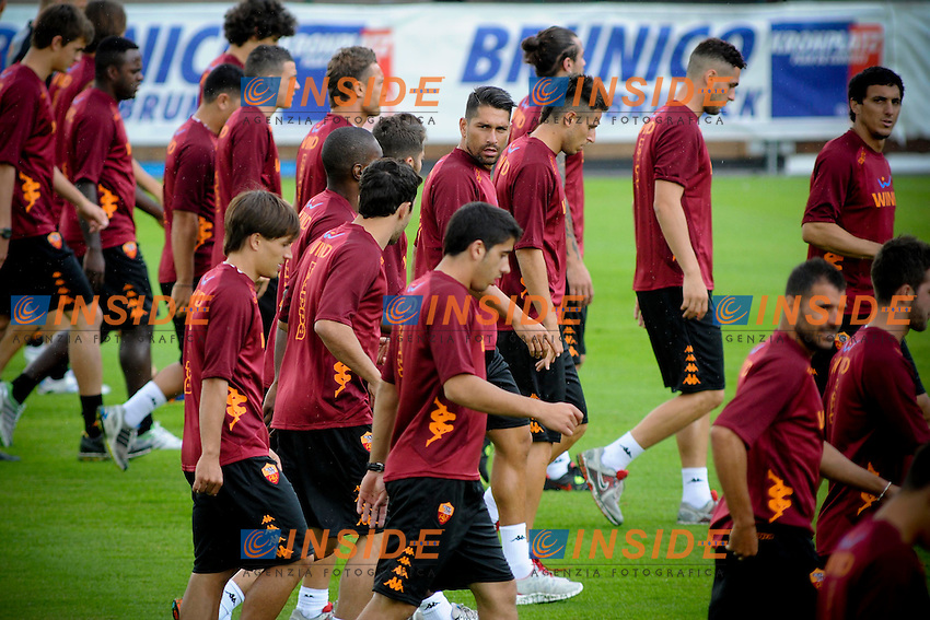 Marco Borriello..Riscone di Brunico (BZ) 05/07/2012 Allenamento As Roma..Football Calcio 2012/2013 ..Foto Insidefoto Christian Mantuano