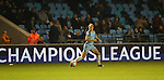 Lucy Bronze of Manchester City Women during the Women's Champions League last 16 tie, first leg between Manchester City Women and Brondby IF at the Academy Stadium. <br /> <br /> Photo credit should read: Lynne Cameron/Sportimage