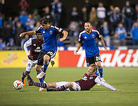 Santa Clara, Ca - Wednesday, May 7th, 2014: The San Jose Earthquakes tie the Colorado Rapids 0-0, at Buck Shaw Stadium