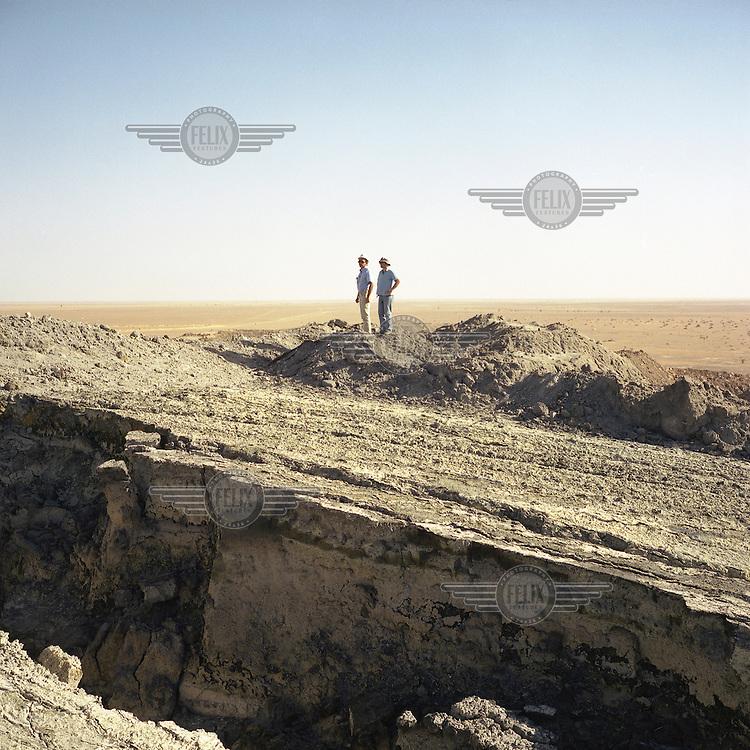 Uranium mine in Arlit.