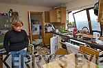 Orla Naessens surveying the damage in her kitchen after lightening struck her home on Friday. Luckily Orla, her husband Niall and their four children were away in Dublin at the time.   Copyright Kerry's Eye 2008