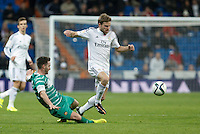 Real Madrid´s Asier Illarramendi (R) during Spanish King Cup match between Real Madrid and Cornella at Santiago Bernabeu stadium in Madrid, Spain.December 2, 2014. (NortePhoto/ALTERPHOTOS/Victor Blanco)