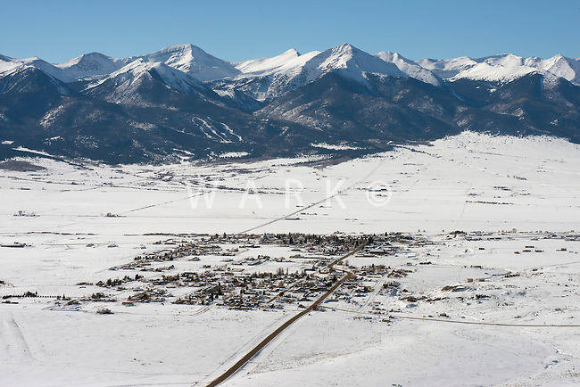 Westcliffe, Colorado. Dec 2013
