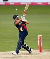 Marcus Stoinis bats for Kent during the Vitality Blast T20 game between Kent Spitfires and Essex Eagles at the St Lawrence Ground, Canterbury, on Thu Aug 2, 2018
