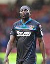 Francis Zoko of Stevenage<br />  - Walsall v Stevenage - Sky Bet League One - Banks's Stadium, Walsall - 19th October 2013. <br /> © Kevin Coleman 2013