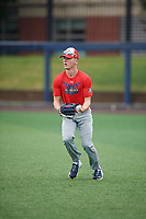 Robert Hassell (9) during the Under Armour All-America Game Practice, powered by Baseball Factory, on July 21, 2019 at Les Miller Field in Chicago, Illinois.  Robert Hassell attends Independence High School in Franklin, Tennessee and is committed to Vanderbilt University.  (Mike Janes/Four Seam Images)