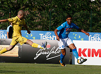 Faouzi Ghoulam  of Napoli during a preseason friendly soccer match against Aunania in Dimaro's Stadium   12 July 2017