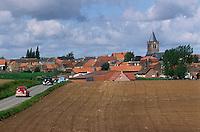 Europe/France/Nord-Pas-de-Calais/59/Nord/Flandre/Boeschepe: Le village