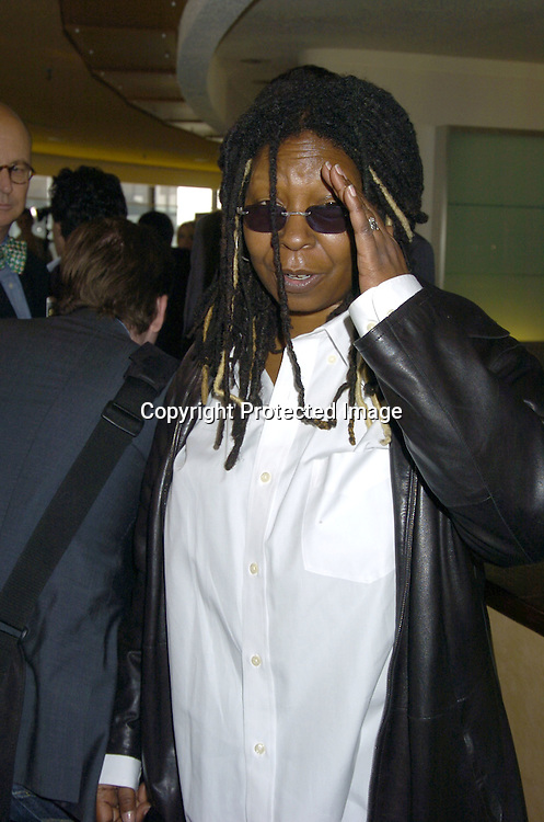 Whoopi Goldberg..at The 2005 Tony Awards Nominees Meet the Press Reception on May 11, 2005 at The Marriott Marquis Hotel. ..Photo by Robin Platzer, Twin Images