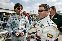 Christian Fittipaldi, Scott Sharp, Rolex 24 at Daytona, February 2003.  (Photo by Brian Cleary/bcpix.com)