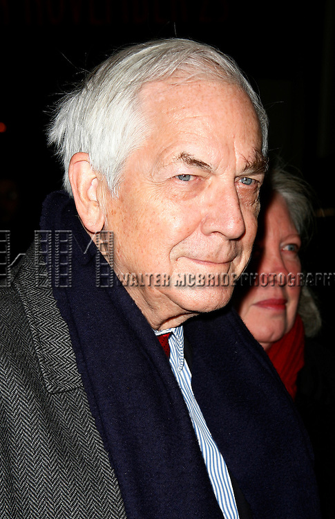 Anthony Marshall (son of Brooke Astor) &amp; wife Charlene<br /> Arriving for the Opening Night Performance of  THE HOMECOMING at the Cort Theatre in New York City.<br /> December 16, 2007
