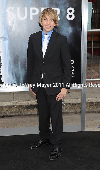 """WESTWOOD, CA - JUNE 08: Ryan Lee attends the """"Super 8"""" Los Angeles Premiere at Regency Village Theatre on June 8, 2011 in Westwood, California."""
