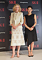 Cate Blanchett, Haruka Ayase, January 21, 2016, Tokyo, Japan : Actress Cate Blanchett(L) and Japanese actress Haruka Ayase attend the event for SK-II in Tokyo, Japan on January 21, 2016.