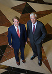Hackensack Meridian Health Co-CEO's Robert Garrett and John Lloyd.