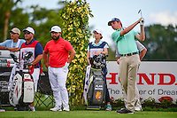 J.T. Poston (USA) watches his drive on 16 during round 1 of the Honda Classic, PGA National, Palm Beach Gardens, West Palm Beach, Florida, USA. 2/23/2017.<br /> Picture: Golffile | Ken Murray<br /> <br /> <br /> All photo usage must carry mandatory copyright credit (&copy; Golffile | Ken Murray)