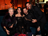 BEVERLY HILLS - JANUARY 7: Penelope Cruz, Edgar Ramirez and Ricky Martin attend the 2018 Fox Nominee Party for the 75th Annual Golden Globe Awards at the Fox Terrace on the Roof Deck of the Beverly Hilton on January 7, 2018, in Beverly Hills, California. (Photo by Frank Micelotta/Fox/PictureGroup)