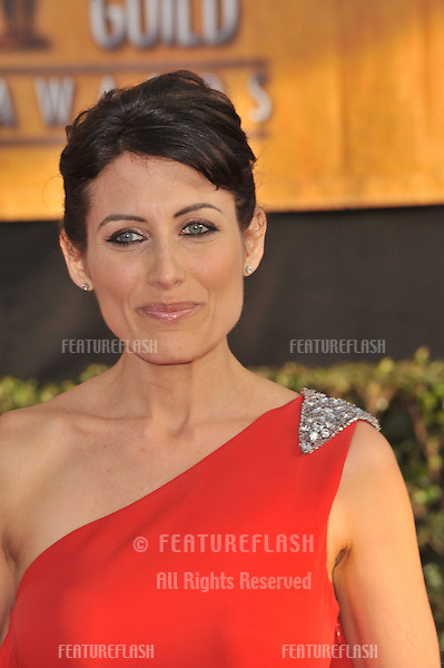 Lisa Edelstein at the 15th Annual Screen Actors Guild Awards at the Shrine Auditorium, Los Angeles..January 25, 2009  Los Angeles, CA.Picture: Paul Smith / Featureflash