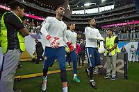 Photo before the match Estados Unidos vs Argentina at NRG Stadium, in Houston, Texas corresponding to the Semifinals of Copa America Centenario 2016. ---<br /> <br /> Foto previa al partido Estados Unidos vs Argentina ,en el Estadio NRG, en Houston, Texas. Partido Correspondiante a la semifinal de la Copa America Centenario USA 2016, en la foto:(i-d)Mariano Andujar, Nahuel Guzman y Sergio Romero<br /> <br /> --- - 21/06/2016/MEXSPORT/JAVIER RAMIREZ