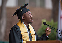 UCSB commencement 2019, Sunday ceremonies Kuvimbanashe Chikukwa