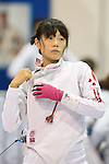 Rie Ohashi (JPN),<br /> AUGUST 11, 2013 - Fencing :<br /> World Fencing Championships Budapest 2013, Women's Team Epee Round of 32 at Syma Hall in Budapest, Hungary. (Photo by Enrico Calderoni/AFLO SPORT) [0391]